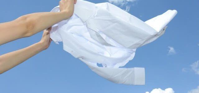 衣替え 洗濯