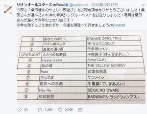 半崎美子桑田佳祐ツイッター