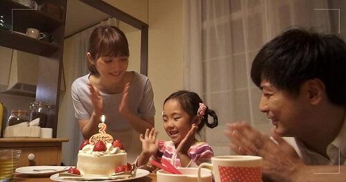 雨が降ると君は優しい 第7話 奈美3歳