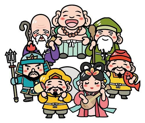 恵方巻き 具 七福神