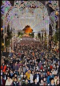 神戸ルミナリエ 混雑