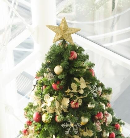 クリスマスツリー 飾り 星