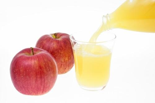 インフルエンザ 高熱 リンゴジュース