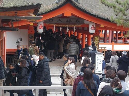 宮島 厳島神社 回廊