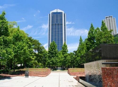 神戸ルミナリエ 神戸市役所24回展望室