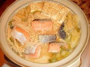 白菜 石狩鍋