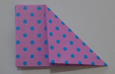 ハート折り紙折り方5
