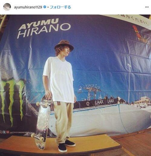 平野歩夢 かっこいい画像