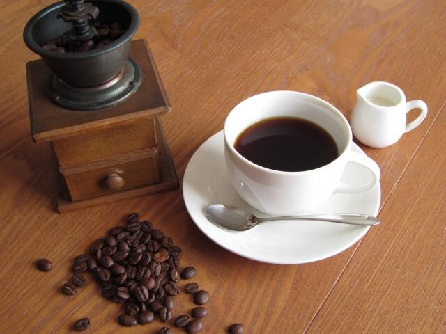 コーヒー ミルク 効果