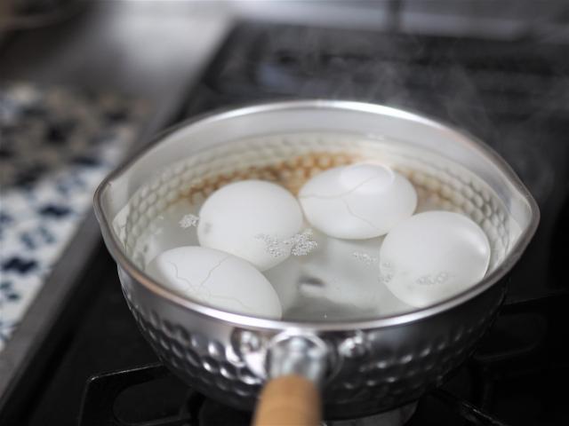 ゆで卵 保存方法