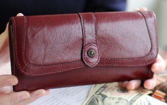 母の日 財布 ダコタ