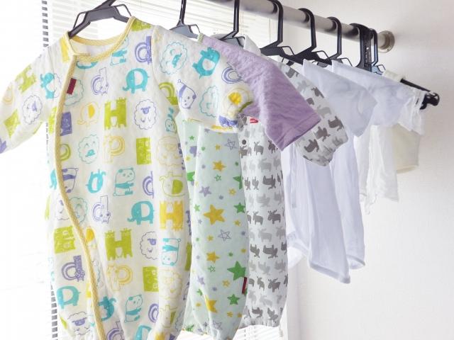 夫 実家 洗濯物 子供