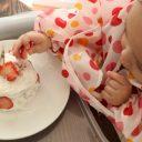 赤ちゃん 1歳ケーキ