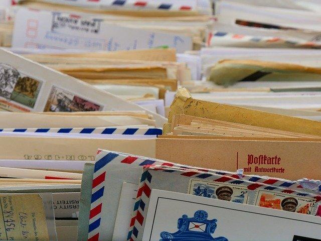 郵便物 住所間違い